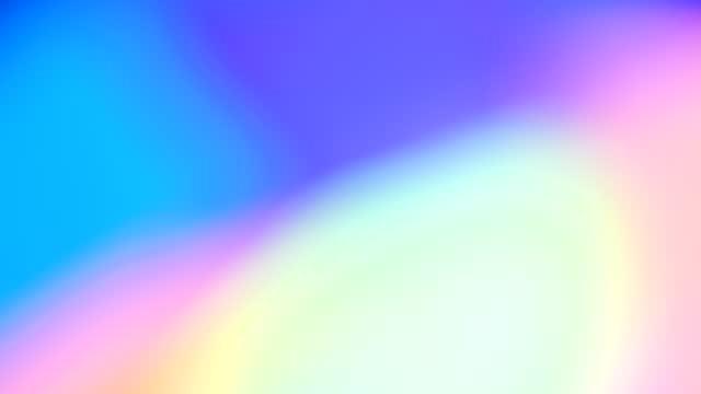 verschwommener mehrfarbiger abstrakter lichthintergrund - leuchtende farbe stock-videos und b-roll-filmmaterial