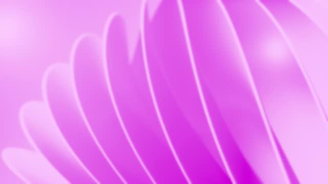 vídeos de stock, filmes e b-roll de animação de fundo macia e brilhante. abstrato simples formas belas design de movimento embaçado. os conceitos de vórtice, negócios, finanças, tecnologia, futuro, jogo, internet, dados, casamento, educação, brainstorm, moderno, web, mobile, loop 3d  - fundo rosa