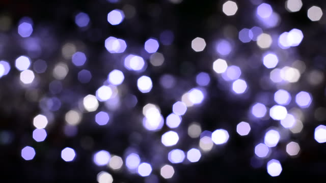 blurred white purple polygon bokeh light - flicker bird stock videos and b-roll footage