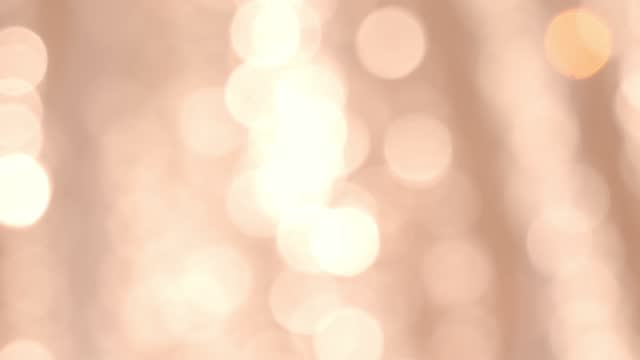 blurry christmas light background. - pastel stock videos & royalty-free footage