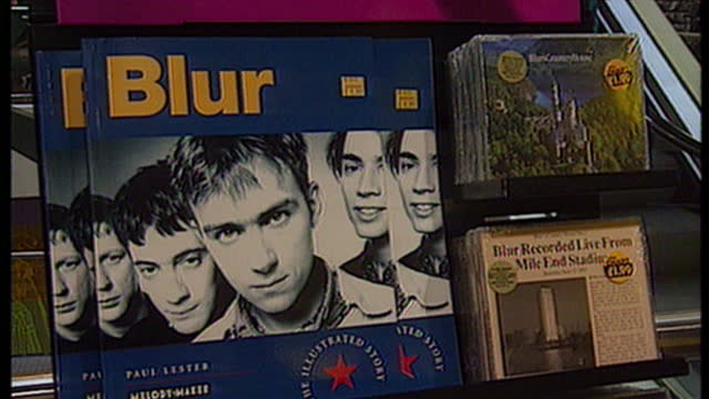 blur's country house heralds one of the biggest music fights for years, they and oasis are squaring up to each other, in the race for the number one... - take that stock videos & royalty-free footage