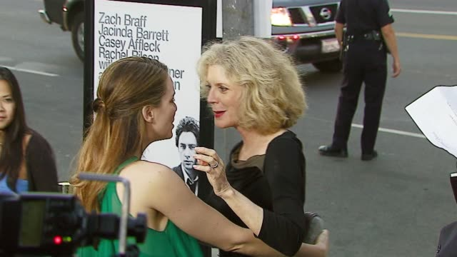 Blythe Danner and Jacinda Barrett at the 'The Last Kiss' Los Angeles Premiere at DGA Theater in Los Angeles California on September 13 2006