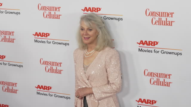 blythe danner at the 18th annual movies for grownups awards at the beverly wilshire four seasons hotel on february 04, 2019 in beverly hills,... - フォーシーズンズホテル点の映像素材/bロール