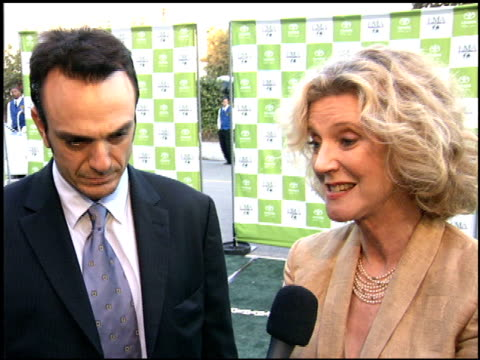 blythe danner at the environmental media awards at wilshire ebell theatre in los angeles california on october 1 2005 - wilshire ebell theatre stock videos & royalty-free footage