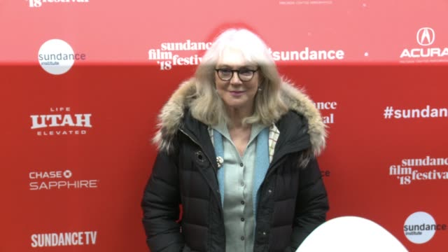 Blythe Danner at the 'What They Had' World Premiere 2018 Sundance Film Festival at Eccles Center Theatre on January 21 2018 in Park City Utah