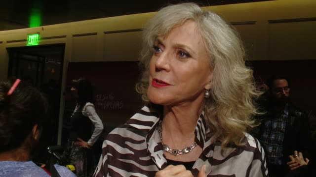 INTERVIEW Blythe Danner on how it feels to have buzz surrounding the film why this story will resonate with everyone the most fun part of working on...