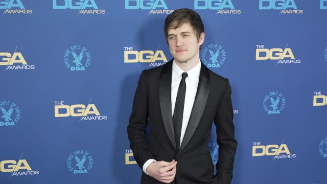 bo burnham at the 71st annual dga awards at the ray dolby ballroom at hollywood highland center on february 02 2019 in hollywood california - director's guild of america stock videos & royalty-free footage