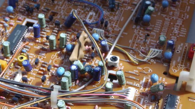 ボードの電気回路 - 回路基板点の映像素材/bロール