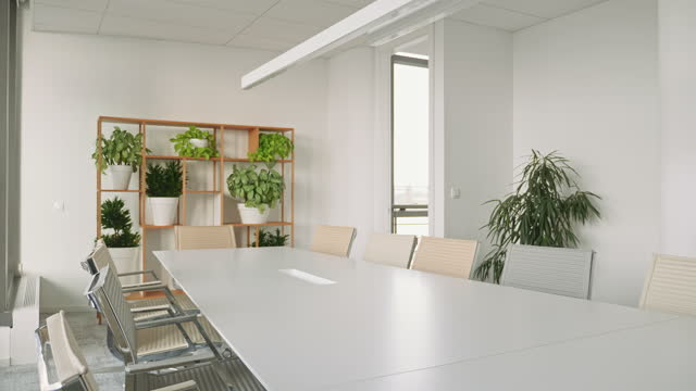"board room with conference table and chairs - xavierarnau or ""xavier arnau serrat"" stock videos & royalty-free footage"