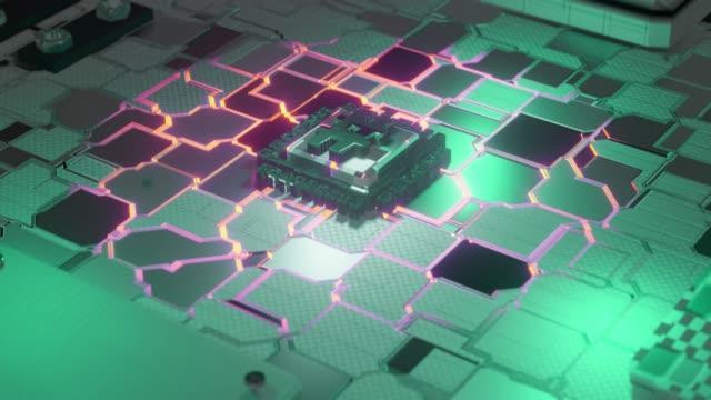 ハッシュタグ付きcpuボード - 道を譲る点の映像素材/bロール