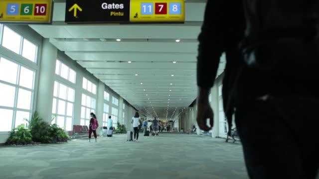 Boarding gates at DPS