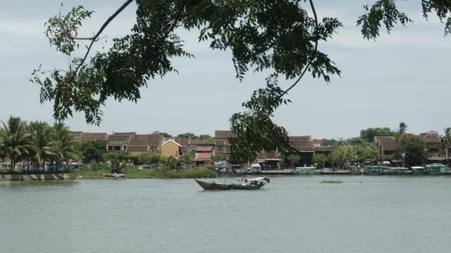Boat Cruising up Vietnam River