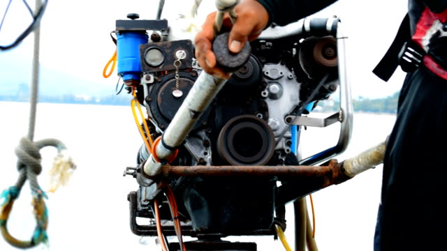 boat engine - diesel fuel stock videos and b-roll footage