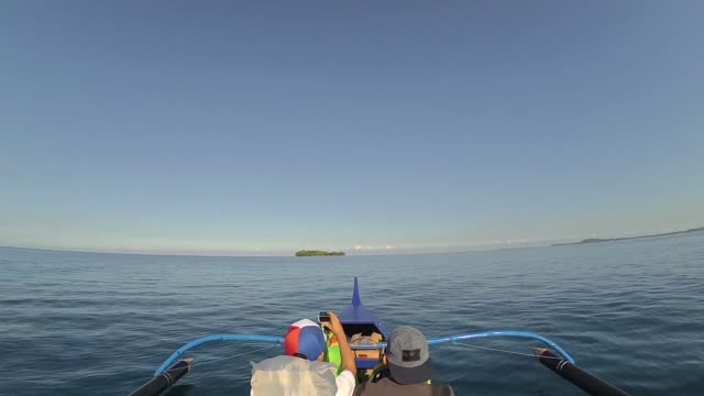 boat going to a distant island - boat point of view stock videos & royalty-free footage