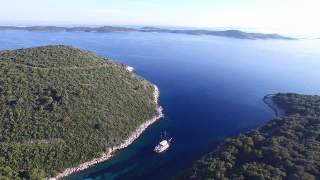 Boat in Croatian Bay