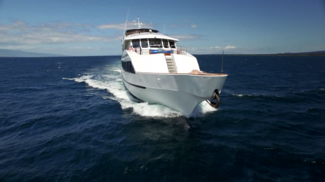 boat in the galapagos - yacht stock videos & royalty-free footage