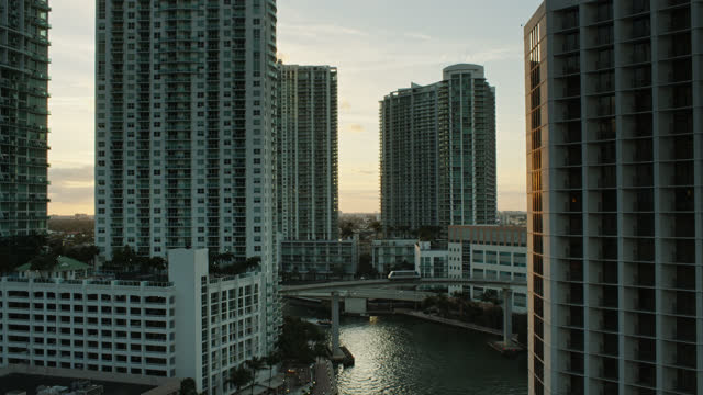 boat on miami river - miami dade county stock videos & royalty-free footage