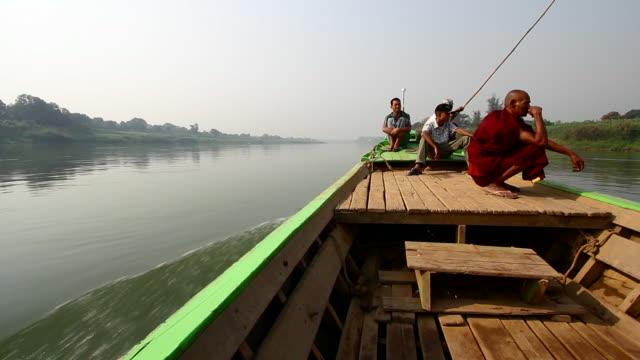 Boat Ride in Myanmar
