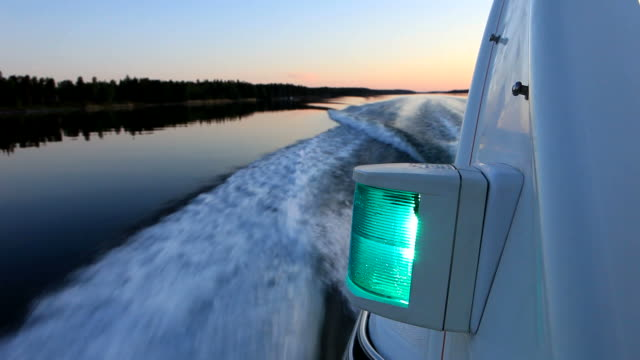 stockvideo's en b-roll-footage met boat ride in scandinavia - nautical vessel