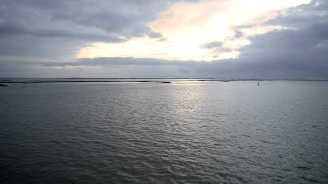 Boat ride through the Ems estuary