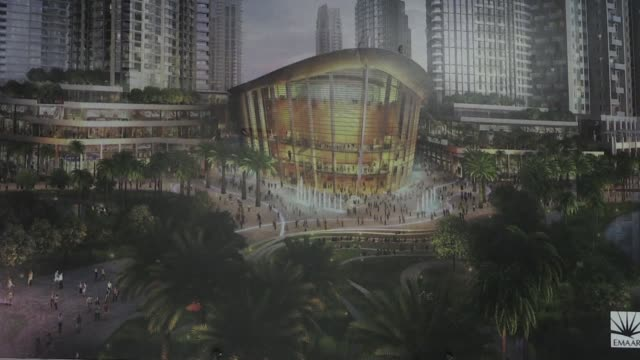 a boat shaped hulk of steel and glass at the foot of the worlds tallest tower dubais new opera house is set to boost the cultural life of the gulf's... - opera stock videos & royalty-free footage