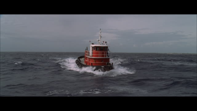 ds a boat steaming and rolling through choppy waves - rough stock videos & royalty-free footage
