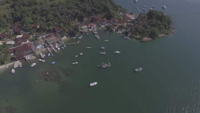 stockvideo's en b-roll-footage met boat sunset - voor anker gaan