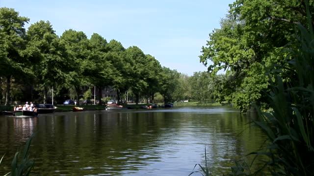 Boat tour through Leiden