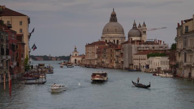 WS Boat traffic on Grand Canal / Venice,Veneto
