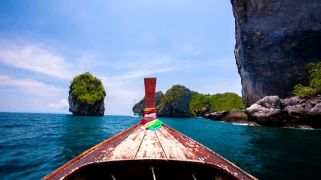 vídeos y material grabado en eventos de stock de viaje en barco punto de vista - perspectiva desde una barca