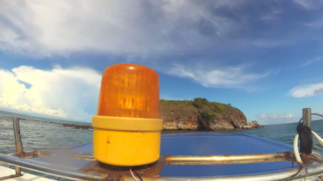 Boat warning siren light - Emergency services