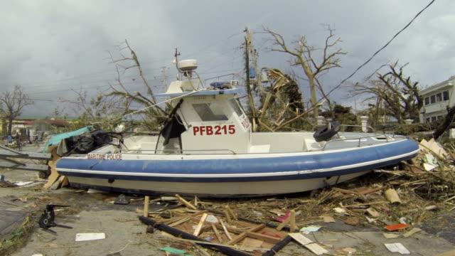 Boat Washed Ashore By Typhoon Haiyan Storm Surge In Tacloban