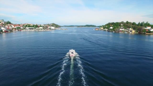 boating on the kragero coast - telemark stock videos and b-roll footage