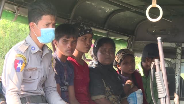 a boatload of more than 100 rohingya muslims who fled a camp in myanmar were found at sea in the south of the country friday after spending days on... - andaman sea stock videos & royalty-free footage