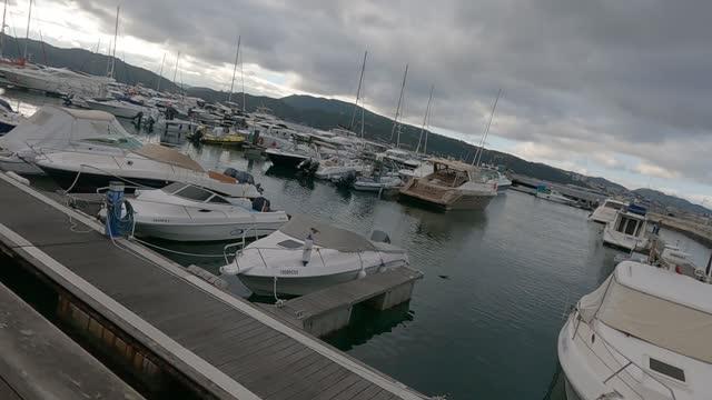 boats at the quay - marina stock videos & royalty-free footage