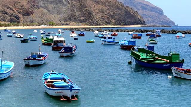 Boats in Tenerife