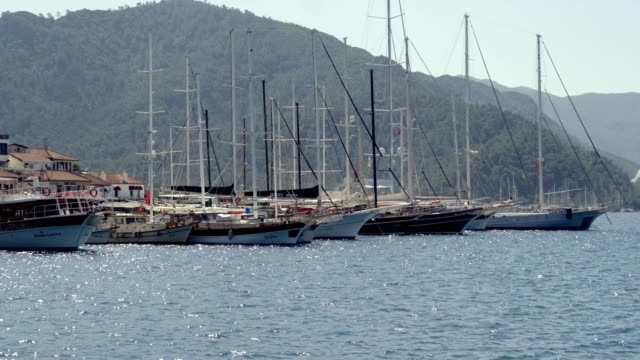 boats - marina stock videos & royalty-free footage