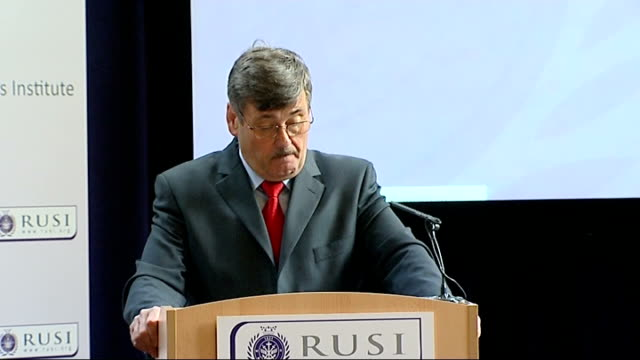 bob ainsworth mp address to royal united services institute ainsworth speech sot the government and the military work together with commanders in the... - 2001年~ アフガニスタン紛争点の映像素材/bロール