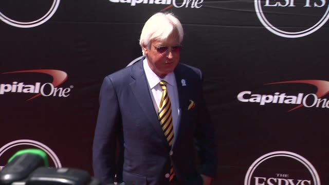 bob baffert at the 2015 espys at microsoft theater on july 15 2015 in los angeles california - microsoft theater los angeles stock videos and b-roll footage