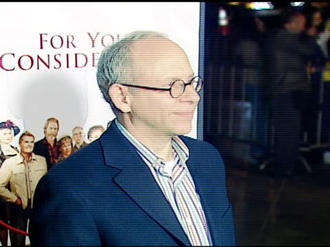 bob balaban at the 'for your consideration' los angeles premiere at director's guild of america in los angeles, california on november 13, 2006. - director's guild of america stock videos & royalty-free footage