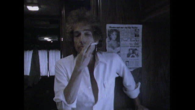 Bob Dylan comments that 'sometimes it's easier to be polite than it is to be rude' when approached by his fans