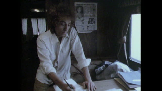 Bob Dylan saying 'I don't have any plan or set way of writing songs