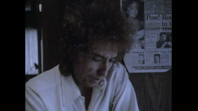Bob Dylan saying ' I don't know what people think of me I only know what record companies say to you'