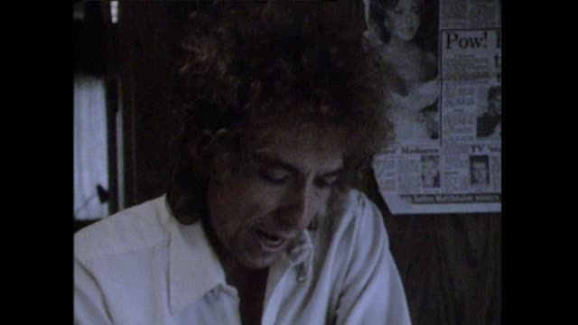 Bob Dylan saying 'I started out with no moneyI had less money than anybody I know'