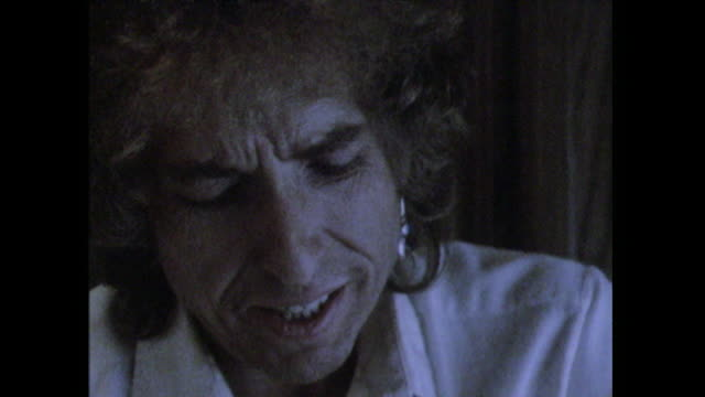 Bob Dylan talks about being labelled 'moody' and 'a recluse' by the press