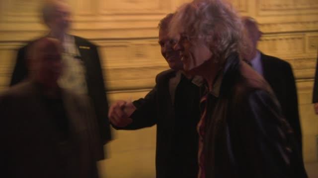 stockvideo's en b-roll-footage met bob geldof at 'soul boys of the western world' uk premiere at royal albert hall on september 30 2014 in london england - bob geldof