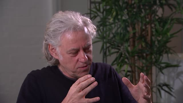 bob geldof interview more of interview - bob geldof stock videos & royalty-free footage