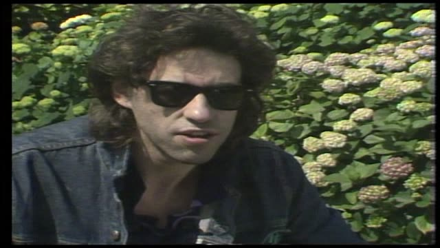 "bob geldof on the legacy and power of the band aid record: """"...there's someone alive in africa that will continue to live...because one christmas... - 1985 stock videos & royalty-free footage"