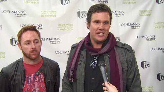 bob guiney on the event, how rock and roll compares to their tv jobs, how the band originated, rehearsal schedules, what they love about being in the... - costa mesa stock videos & royalty-free footage