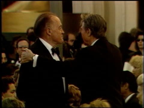 vidéos et rushes de bob hope at the 1989 academy awards at the shrine auditorium in los angeles, california on march 29, 1989. - 61e cérémonie des oscars